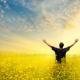 bevrijdende ademhaling in de buitenlucht